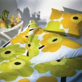 Marimekko Floral Bedding – the Unikko retro bedding
