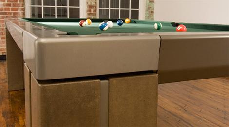 Mars concrete billiards table details