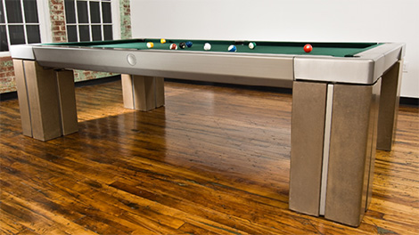 Contemporary Billiard Table from Mars Made highend billiards