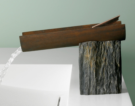 Faucet For Rustic Contemporary Bathroom By Marti