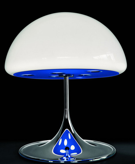 martinelliluce lamp mico 1 Magic Table Lamp from Martinelliluce   let the Mico lamp cast a magical spell over you!