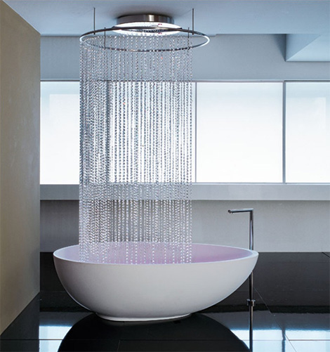 Egg-Shaped Bathtub from Mastella  Vov Italian bathtub design