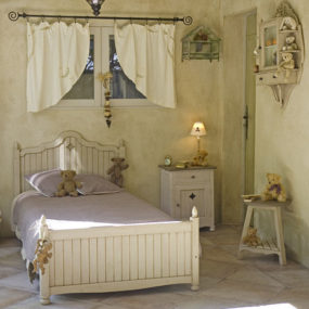 "Kids bedroom furniture by Matin D'ete (""Morning of summer"") – a French country style bed"