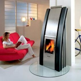Max Blank Niagara Fireplace – Fire and Water in peace