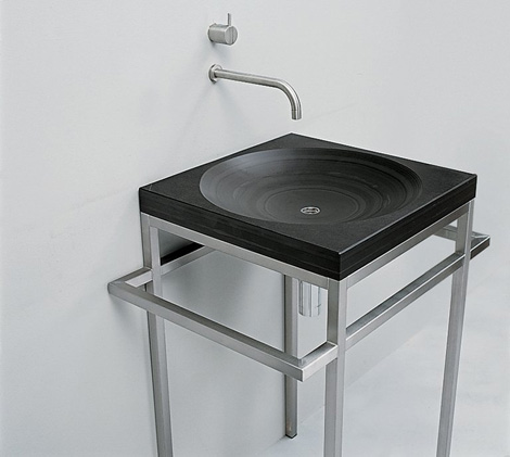 maxim vanity bauhaus 1 1 Slate Sink from Maxim   Bauhaus sinks