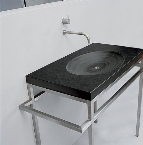 maxim vanity bauhaus 2 1 Slate Sink from Maxim   Bauhaus sinks