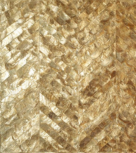 maya romanoff luxury wall coverings mother of pearl chevron