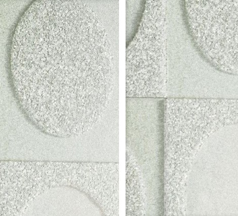Maya Romanoff luxury wall coverings - Relief Circles beads detail