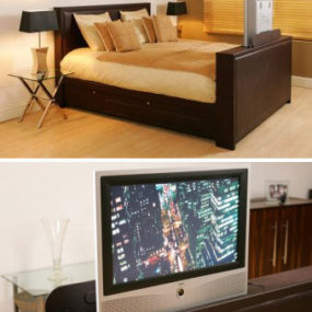 The Chicago TV Bed from Mayflower Designs