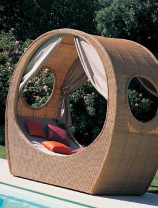 mazuvo outdoor bed balu 1 Outdoor Bed from Mazuvo   Balu garden bed