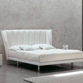White Modern Bed by MD House