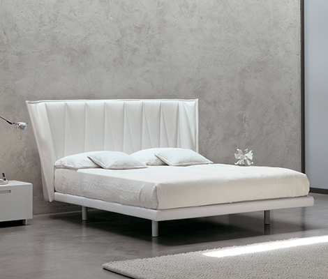 md house all bed white White Modern Bed by MD House
