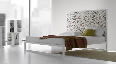 mdf italia aluminium bed the new bed 07. Black Bedroom Furniture Sets. Home Design Ideas