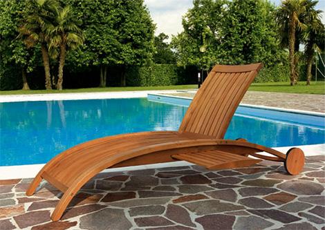 medeot mirage sunbed Classic Medeot Garden Furniture   Ecologically Sound Choice