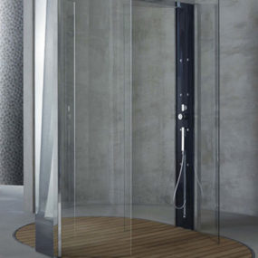 Contemporary Shower Cabin from Megius – new Waterpole shower