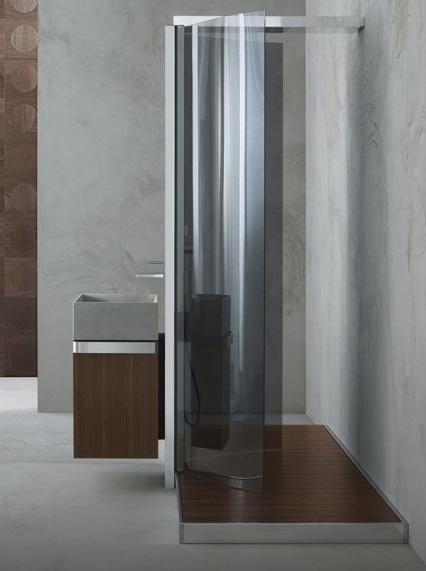 megiusshowerwaterpole1 Contemporary Shower Cabin from Megius   new Waterpole shower
