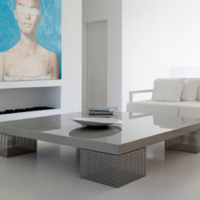 Mesh Coffee Table by Baltus