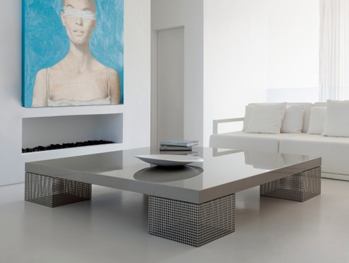 mesh coffee table baltus 1 Mesh Coffee Table by Baltus