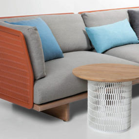 Metal Mesh Garden Sofa by Patricia Urquiola for Kettal