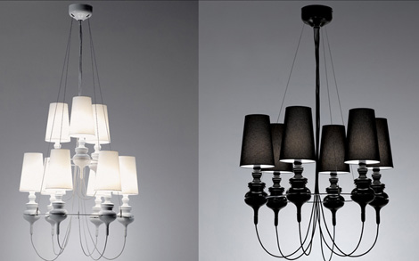 Contemporary Lighting From Metalarte Josephine Queen