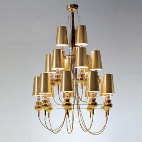 Contemporary Lighting from Metalarte – Josephine Queen lighting range
