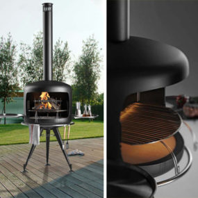 Designer Barbeques – Apis barbecue by Metalco
