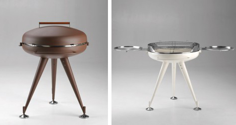 metalcohome barbecue apis 2 Designer Barbeques   Apis barbecue by Metalco