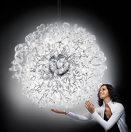 metallux chandelier astro 2 Beautiful Chandelier by Metallux – Astro