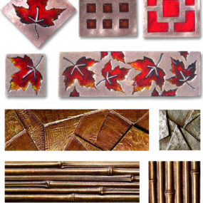 Bronze Tiles from Metaphor Bronze