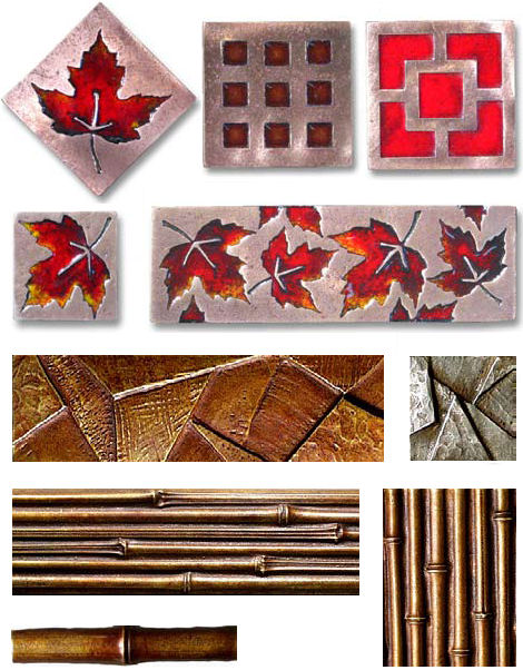metaphor bronze tiles Bronze Tiles from Metaphor Bronze
