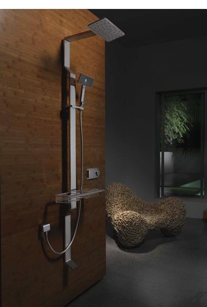 methven satinjet shower tahi 1 Shower System from Methven   new Satinjet Tahi system designed with women in mind
