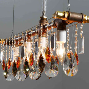 Outdoor Crystal Lighting from Michael McHale Designs – Wow!