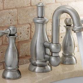 Vintage style bathroom faucet from Mico – the Seashore faucets – the art of water