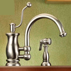 Vintage style kitchen faucet from Mico – the Seashore faucet line