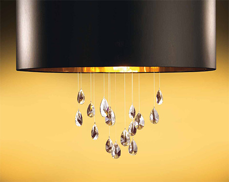 micron grace ceiling suspension lamp detail Fashionable Lamps by Micron   Grace lamp