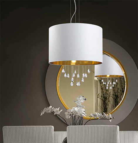 micron grace ceiling suspension lamp