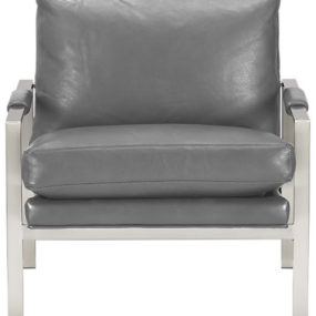 Mid-Century Lounge Chair – Milo Classic Leather Lounge Chair from Crate & Barrel