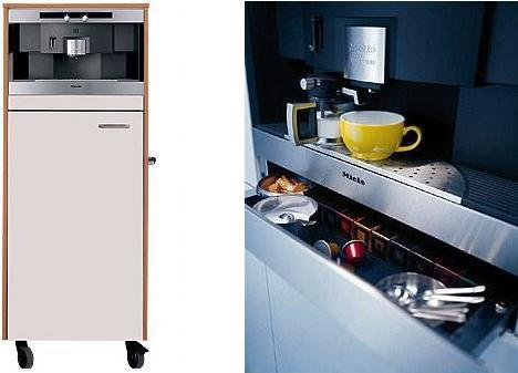 miele coffee system cva615 Miele Coffee System CVA2660 / CVA2650   capsule coffee maker to install anywhere