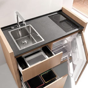 Mini Kitchen – compact and hyper-equipped, by Kitchoo