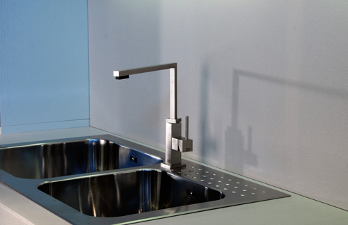 minimal faucet kitchen gessi minimo 2 Minimal Faucet for Kitchen by Gessi – Minimo
