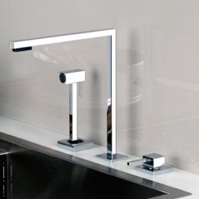 Minimal Faucet for Kitchen by Gessi – Minimo