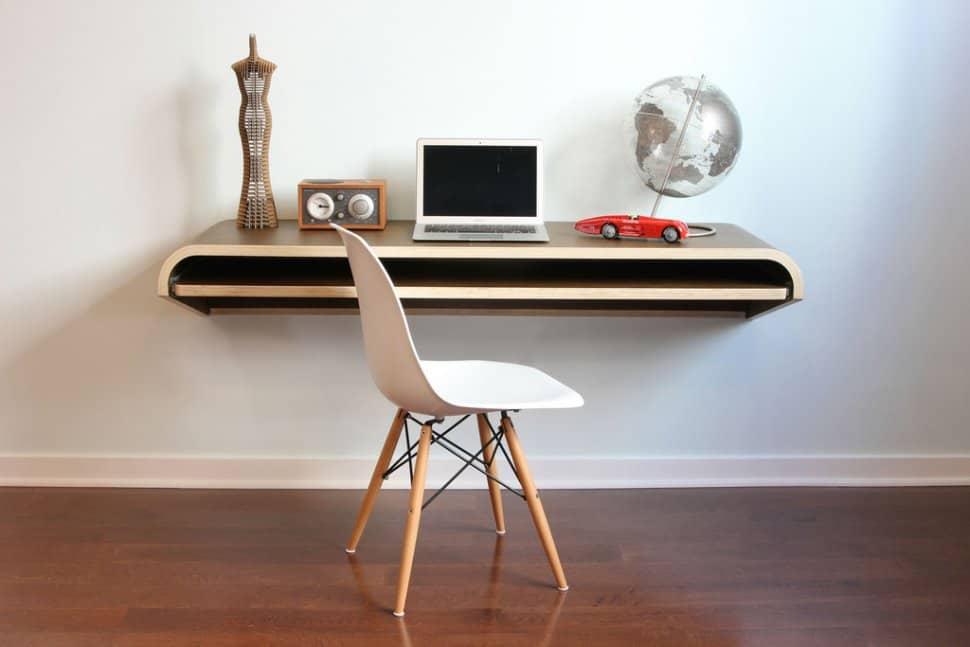 Superbe Minimal Float Wall Desk From Orange 22