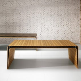 Minimalist Wood Desk by Haworth