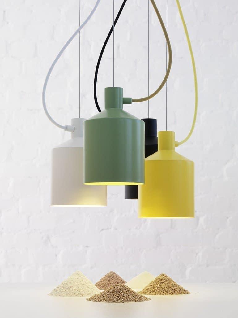 Minimalistic Industrial Style Pendants Silo by Zero