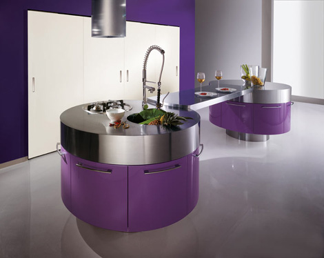 miton kitchen mt 700 1 Ultra Modern Kitchen from Miton   new MT700G