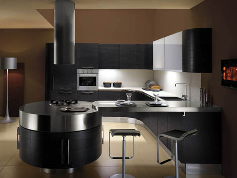 Miton kitchen MT700G in black