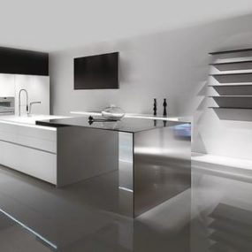 100% Corian Kitchen from MK Style – 012 Kitchen Design