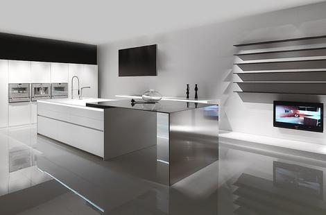 Mk Style Corian Kitchen 012 Thumb 100% Corian Kitchen From MK Style 012  Kitchen Design