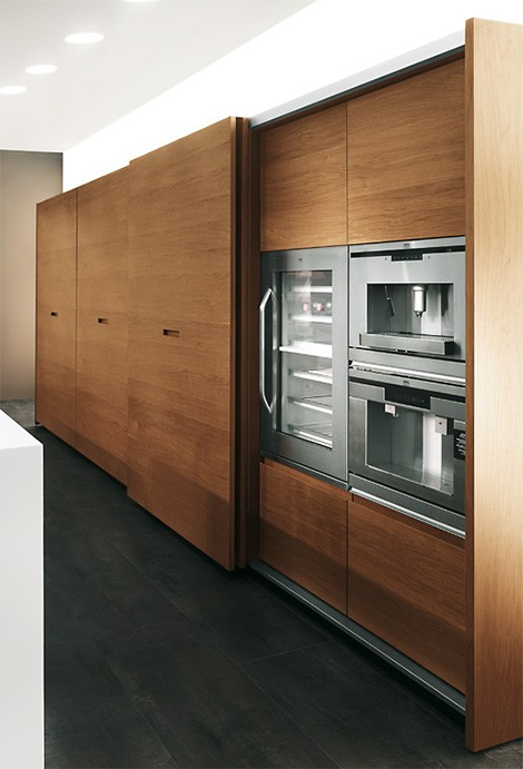 Italian Kitchen Extra From MK Style Sliding Doors Everywhere - Kitchen cabinets with sliding doors