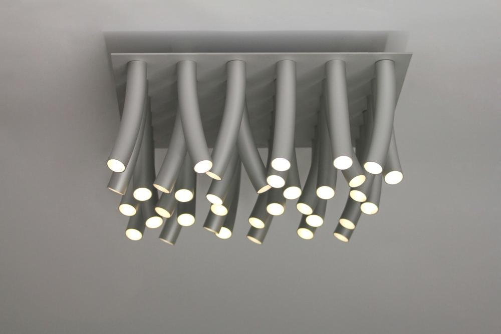 Modern aluminum led ceiling lamp mozeypictures Image collections